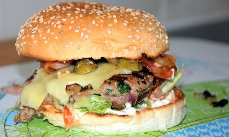 Het ultieme broodje hamburger!