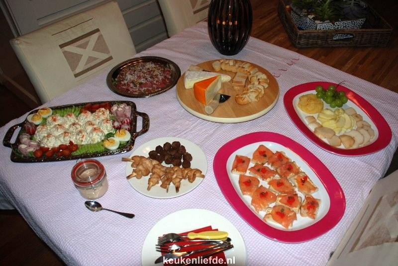 Super Warm en koud buffet - Keuken♥Liefde &UQ67