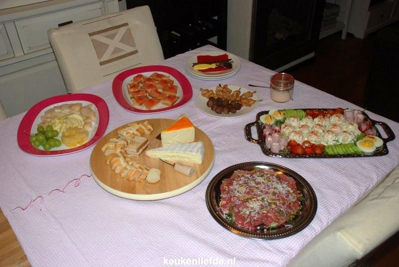 Vaak Warm en koud buffet - Keuken♥Liefde &JF91