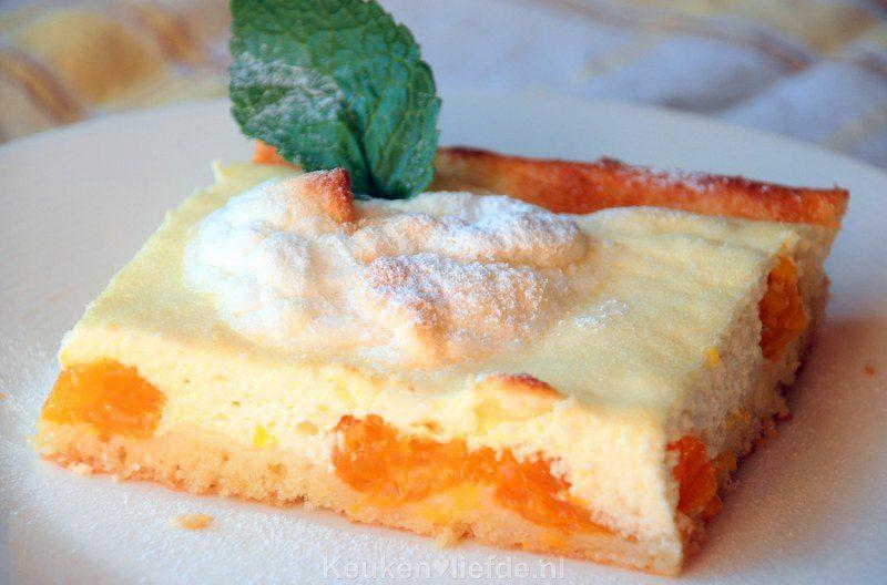 Kwarktaart met mandarijn en meringue