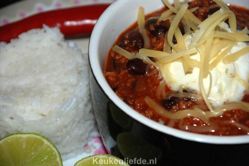Wereldgerecht: Tex-Mex chili con carne