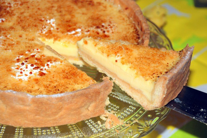 Frisse citroentaart