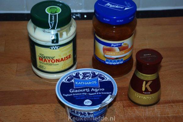Kerriesaus - lekker bij de bbq of gourmet