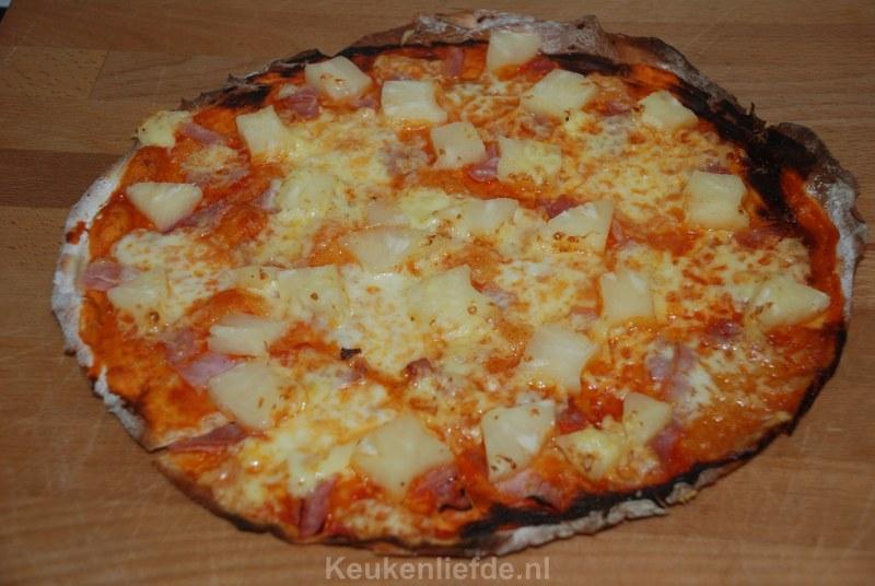 Tropische Pizza Hawaï