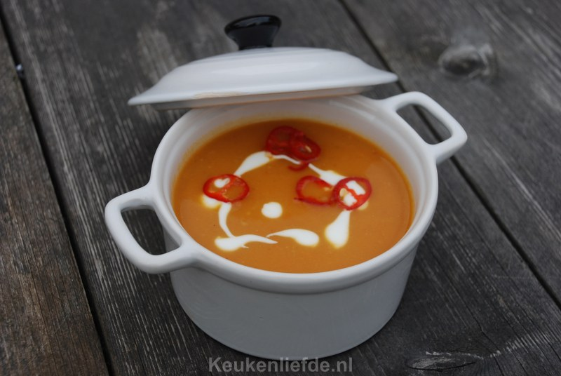 Pittige Oranjesoep - Pompoensoep