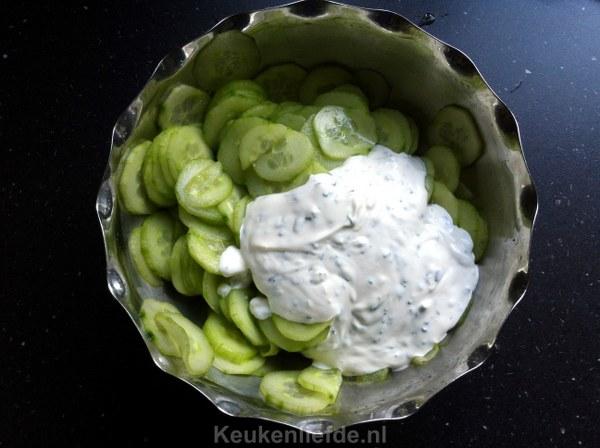 Tzatziki komkommersalade