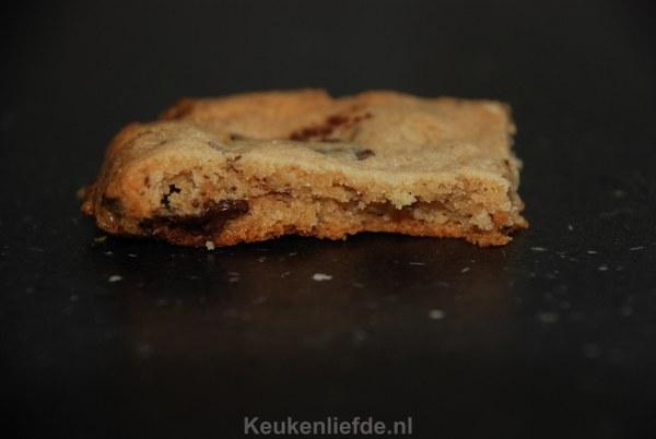 Chocolate chip pindakaaskoekjes