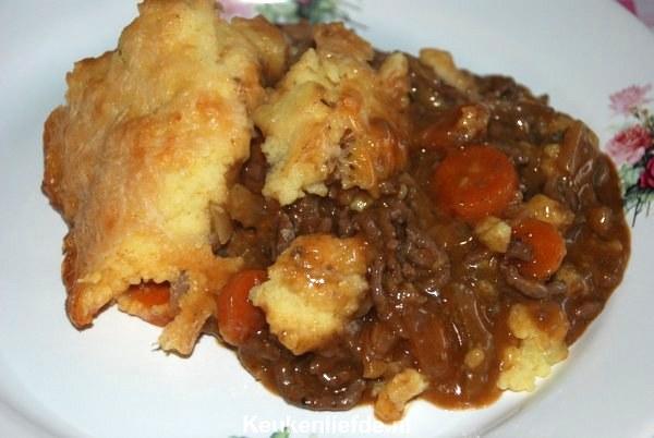 Ovenschotel met gehakt - Shepherd pie