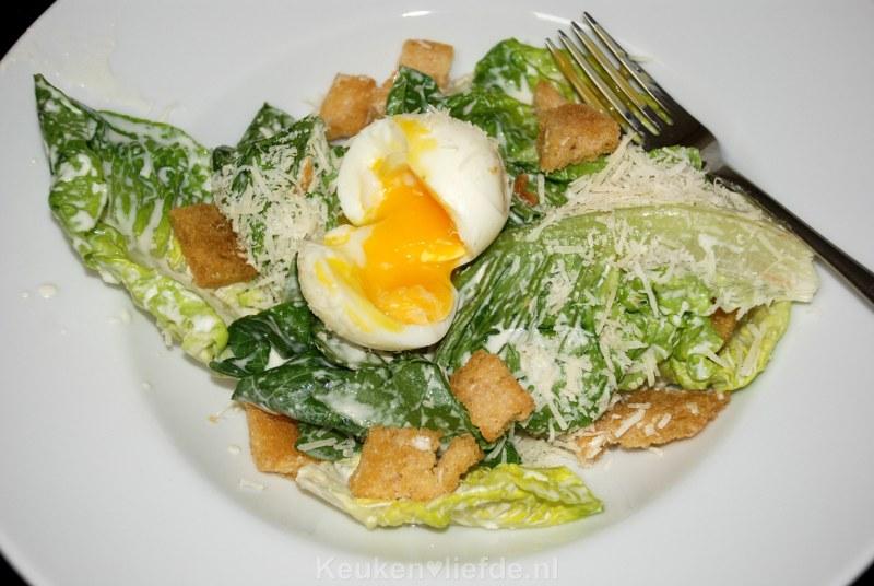 Verrukkelijke Caesarsalade!