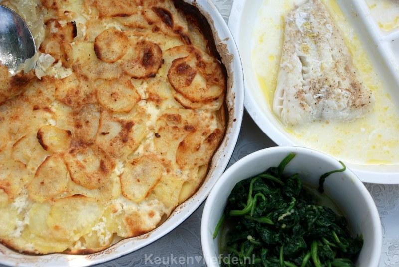 Aardappelgratin - Gratin Dauphinois