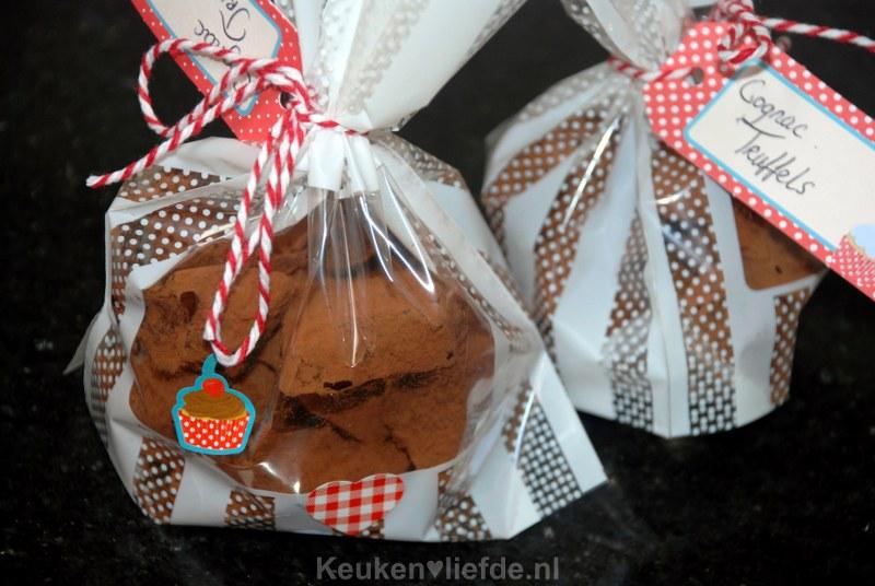 Chocoladetruffels met cognac