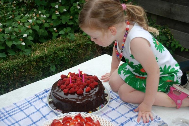 Verjaardagstaart voor Ella-Marie