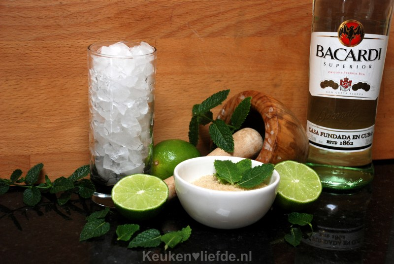 Cubaanse Mojito cocktail