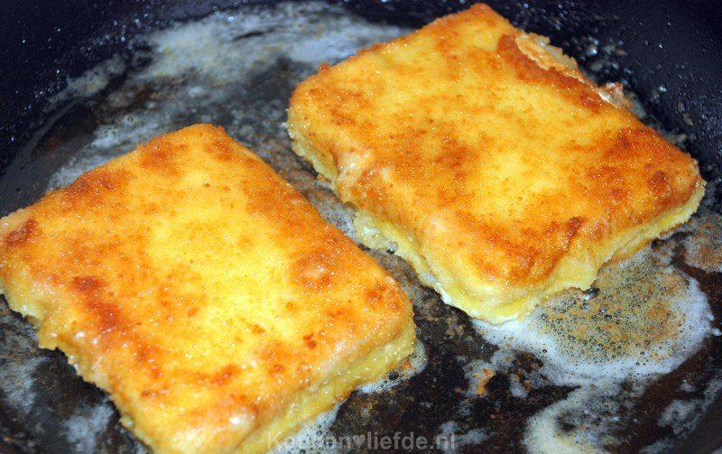 Saganaki - gebakken feta