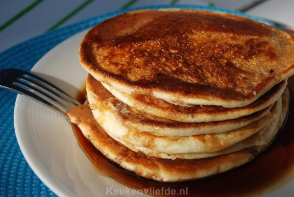 Real American breakfast pancakes