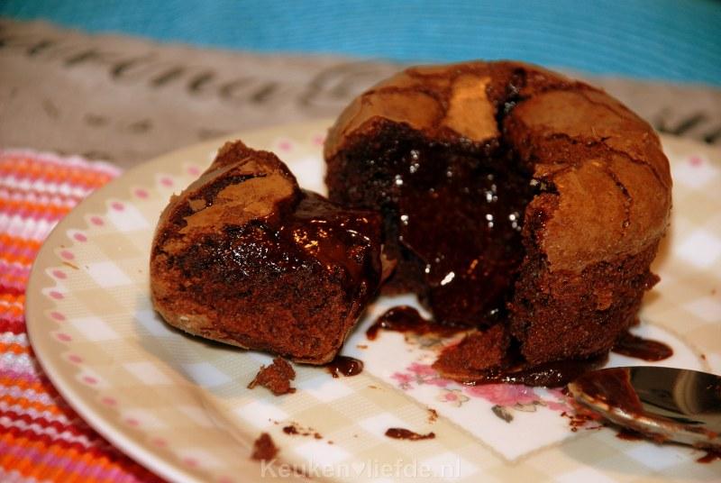 Frans chocoladetaartje - Moelleux au chocolat