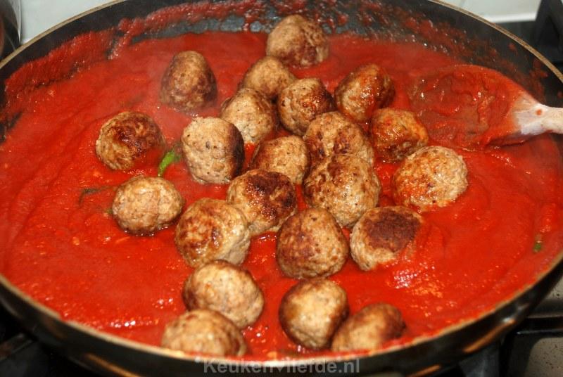 Italiaanse gehaktballen van Jamie Oliver