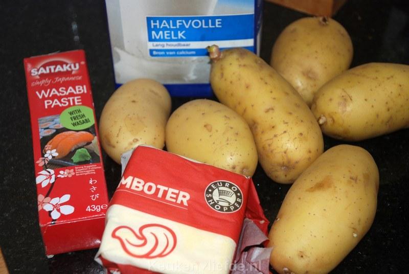 Pittige aardappelpuree