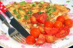 Aardappeltortilla met chorizo en lente-ui