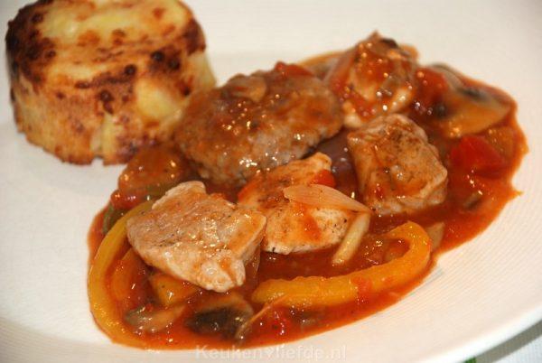 After gourmet-stoofpot