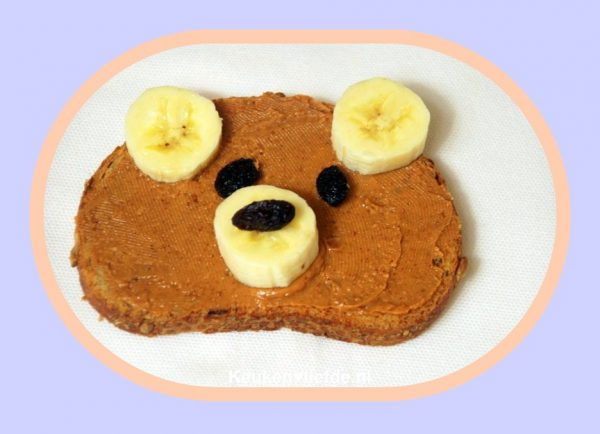 Leuk kinderrecept - Teddy Bear toast