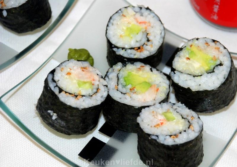 Keuken Zelf Maken : Ingredi?nten voor ongeveer 24 stuks sushi