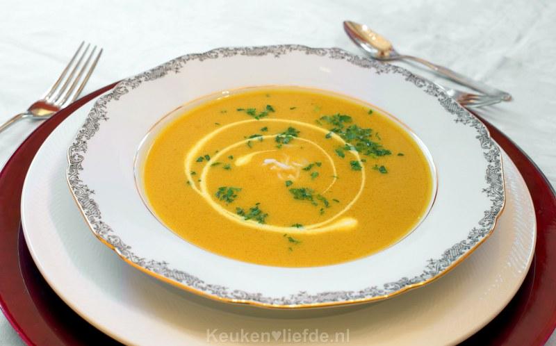Indiase Mulligatawny soep