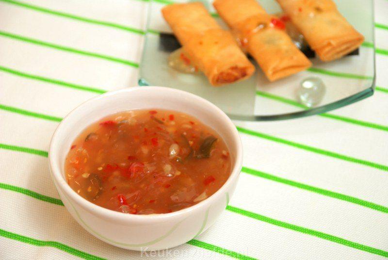 Zelfgemaakte Keuken : Zelfgemaakte zoete chilisaus – Keuken?Liefde
