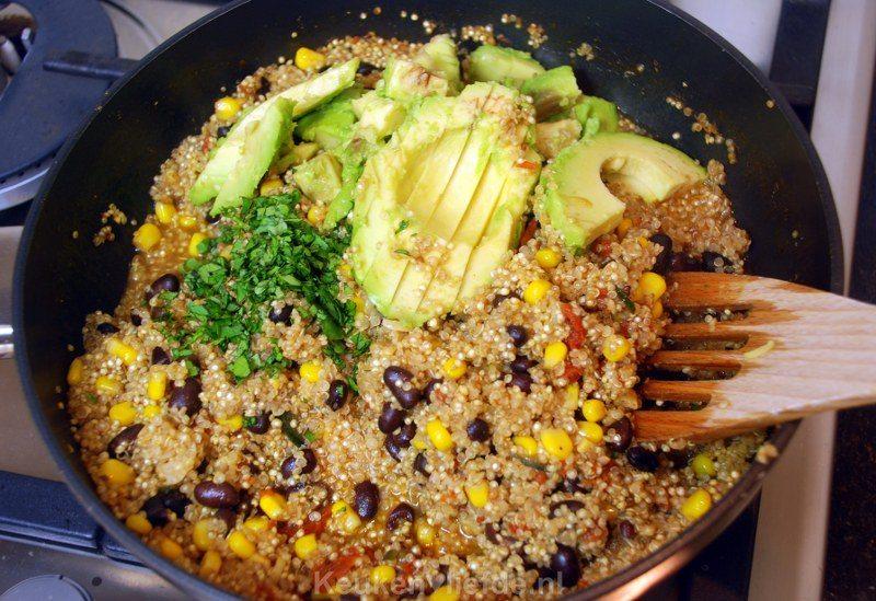 Mexicaanse quinoa - makkelijk eenpansgerecht!