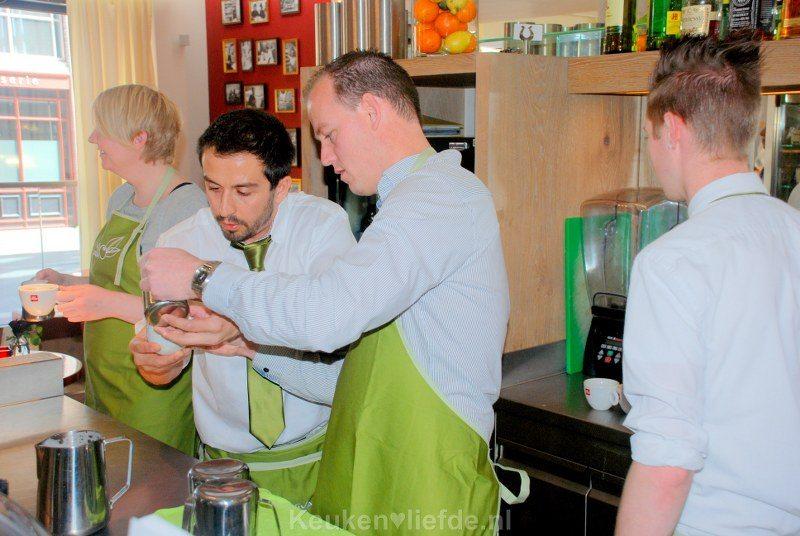 Barista workshop en pasta maken bij Vapiano!