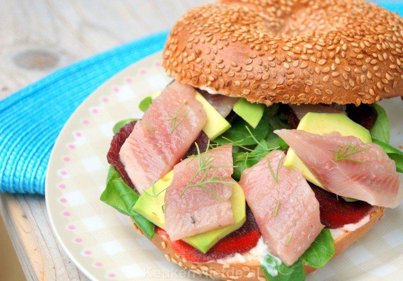 Gezond lunchgerecht met Hollandse Nieuwe