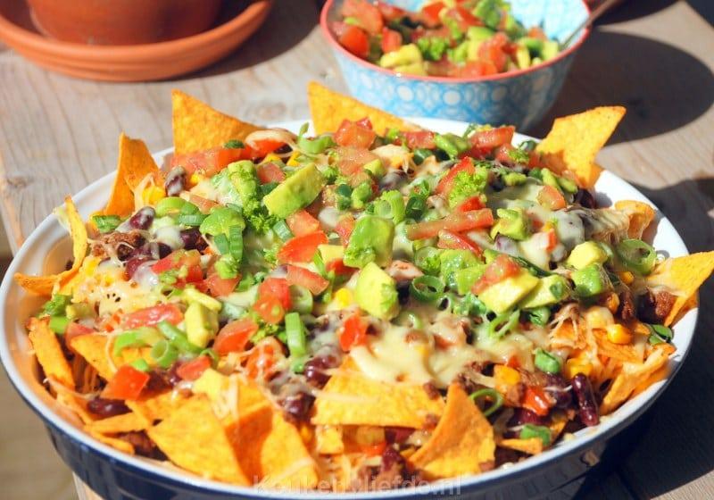 Populair Loaded nachos - Mexicaanse tortillaschotel - Keuken♥Liefde #PM13