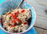 Zelfgemaakte tonijnsalade