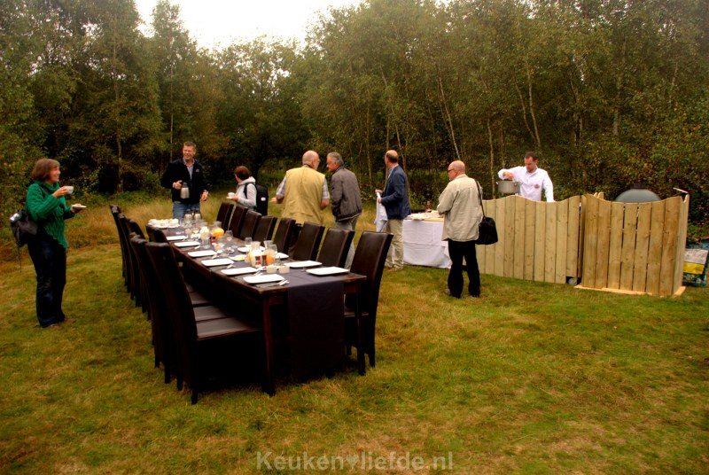 Ontbijten in het bos - verzorgd door Culinair Team Zeeland