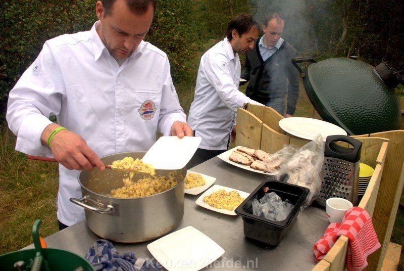 Culinair Team Zeeland verzorgd ontbijt in het bos
