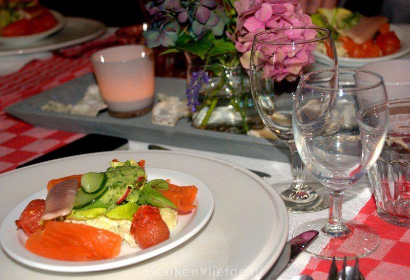 Diner in De Menheerse Werf Middelharnis