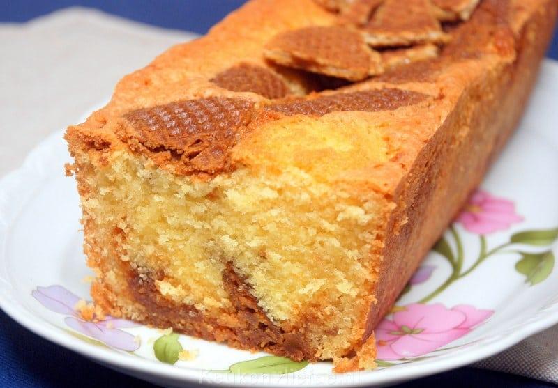 Oud Hollandse Keuken Recepten : Oud-Hollandse stroopwafelcake