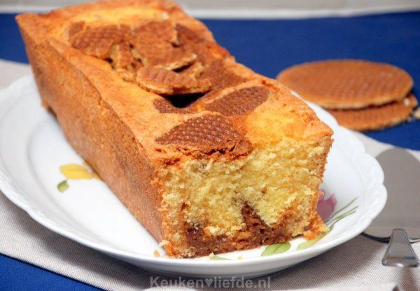 Oud-Hollandse stroopwafelcake