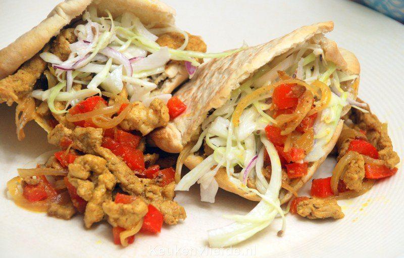 Keuken Fineer Laat Los : Zelfgemaakte shoarma (met pitabrood en koolsalade) – Keuken?Liefde