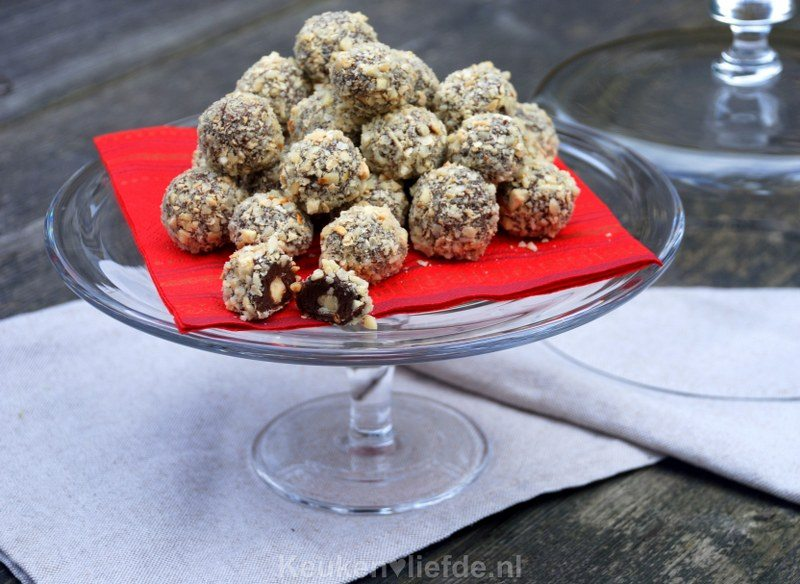 Ferrero Rocher (hazelnoot-chocoladetruffels)