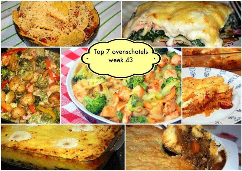 Top 7 best bekeken ovenschotels week 43