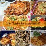 Top 7 best bekeken recepten week 49