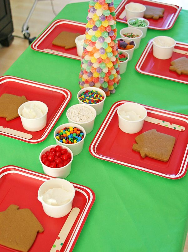 Christmas Party Ideas Kids Part - 48: Christmas Party Ideas For Nursery School : Kersttafel P Inspiratie Welke  Kleur Kies Jij Dit Jaar