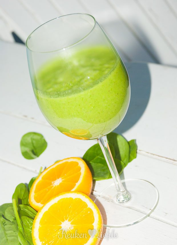 Power breakfast: groene smoothie!