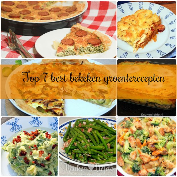 Top 7 best bekeken groenterecepten week 4