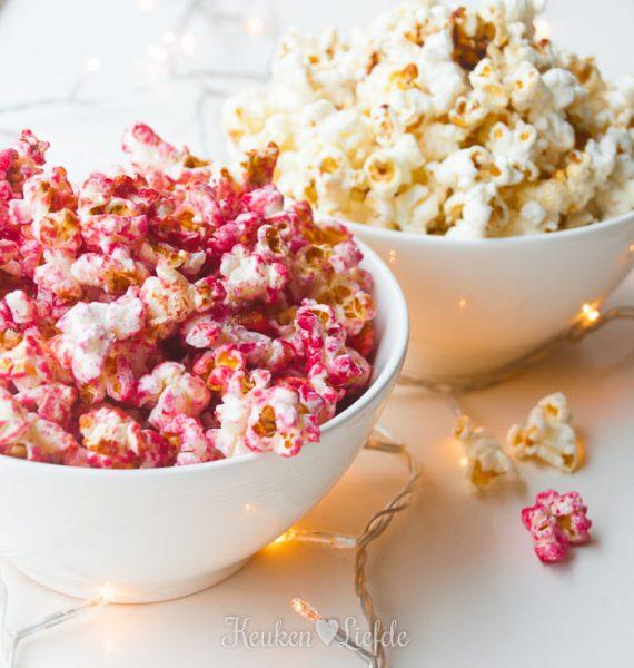 Speels & Smakelijk: Zoete roze popcorn!