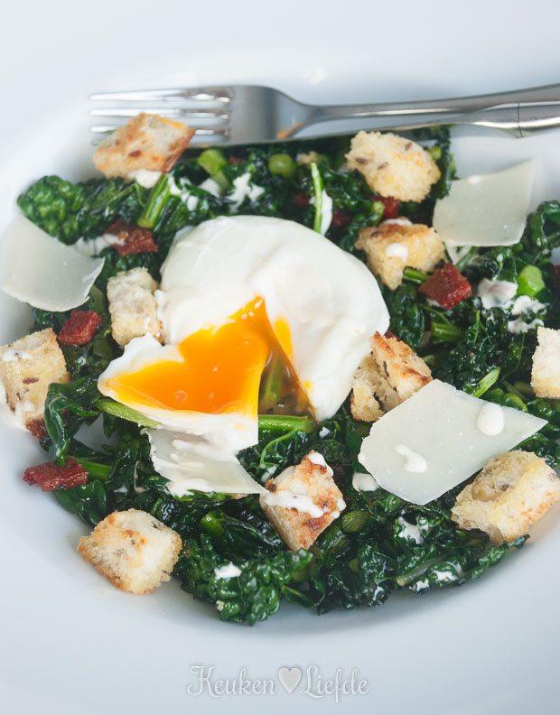 Spijs & Wijn: cavolo nero ceasar salad