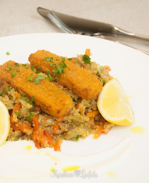 Slank & Snel: Quinoa-hutspot met vadouvan