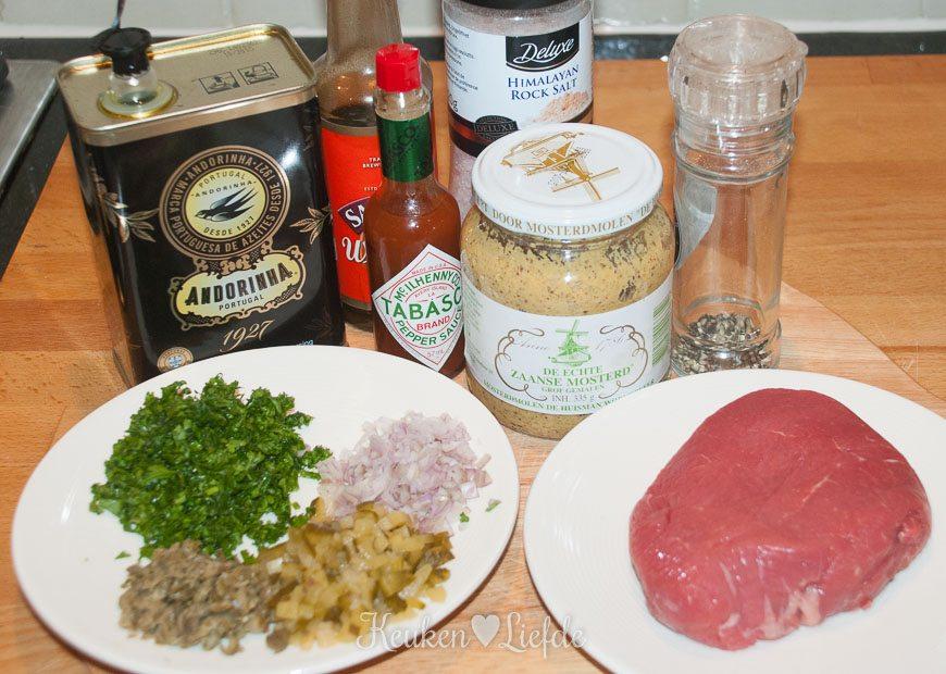 Steak tartare met dikke frieten-8672