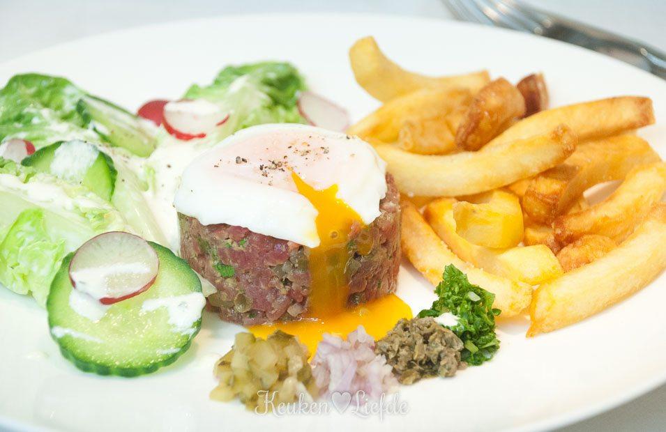 Spijs & Wijn: Steak tartare met dikke frieten